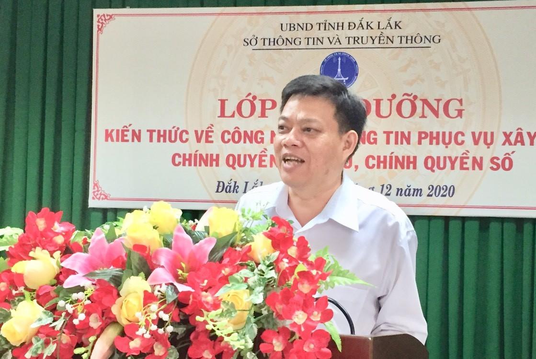 Đắk Lắk: Tập huấn bồi dưỡng kiến thức về CNTT phục vụ xây dựng chính quyền điện tử, chính quyền số