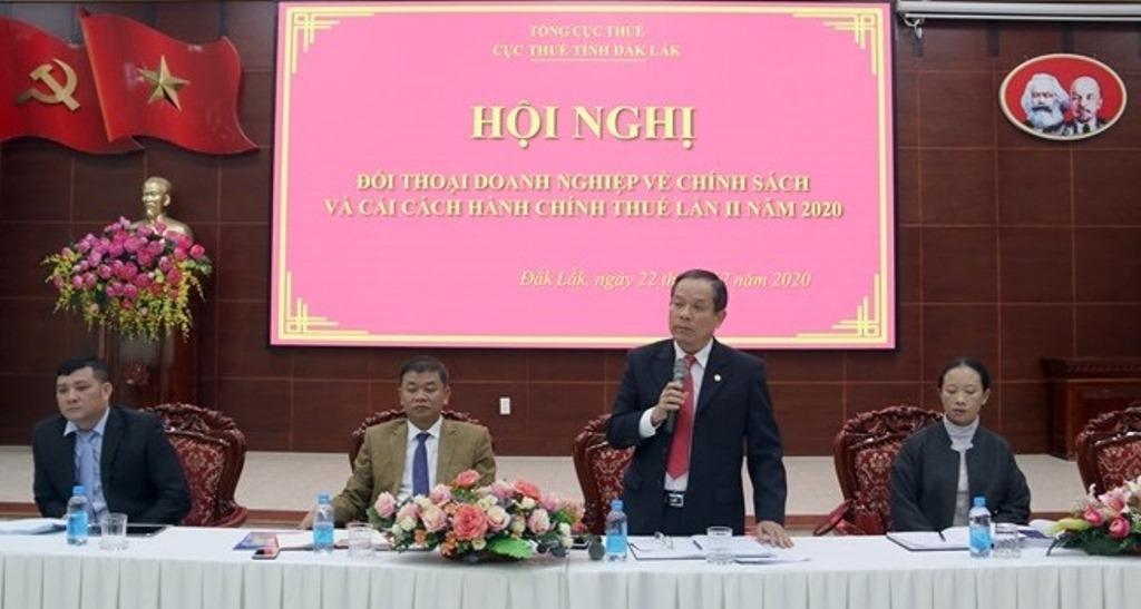 Hội nghị đối thoại với doanh nghiệp về chính sách thuế