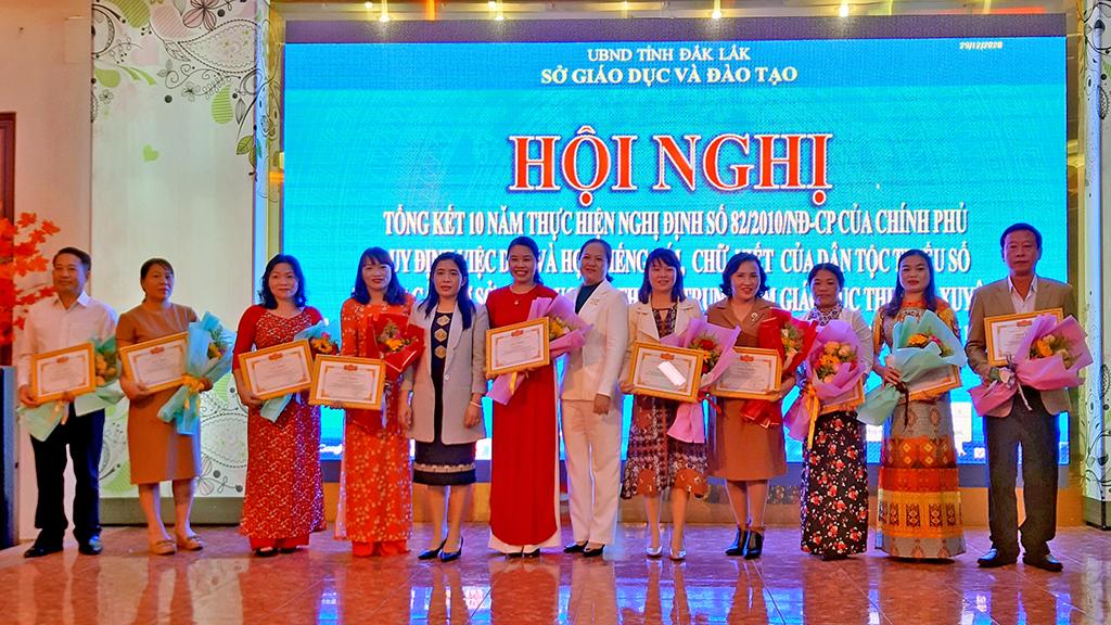 Tổng kết 10 năm triển khai dạy học tiếng dân tộc thiểu số trên địa bàn tỉnh
