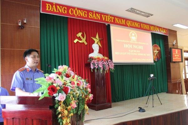 VKSND tỉnh tổ chức Hội nghị trực tuyến tập huấn các đạo luật mới về tư pháp