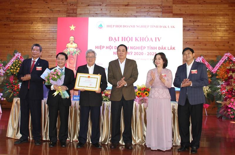 Đại hội Hiệp hội Doanh nghiệp tỉnh Đắk Lắk khóa IV, nhiệm kỳ 2020-2025