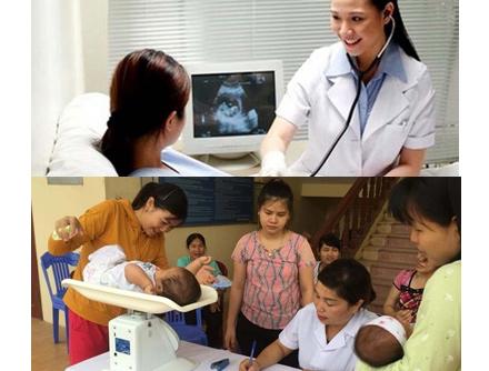 Thực hiện Chương trình chăm sóc dinh dưỡng 1.000 ngày đầu đời.