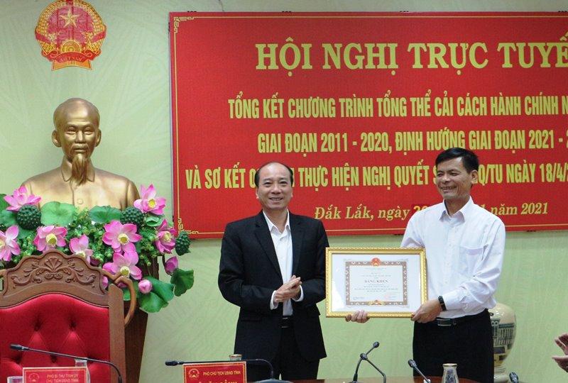 Đắk Lắk tổng kết chương trình tổng thể cải cách hành chính nhà nước giai đoạn 2011-2020