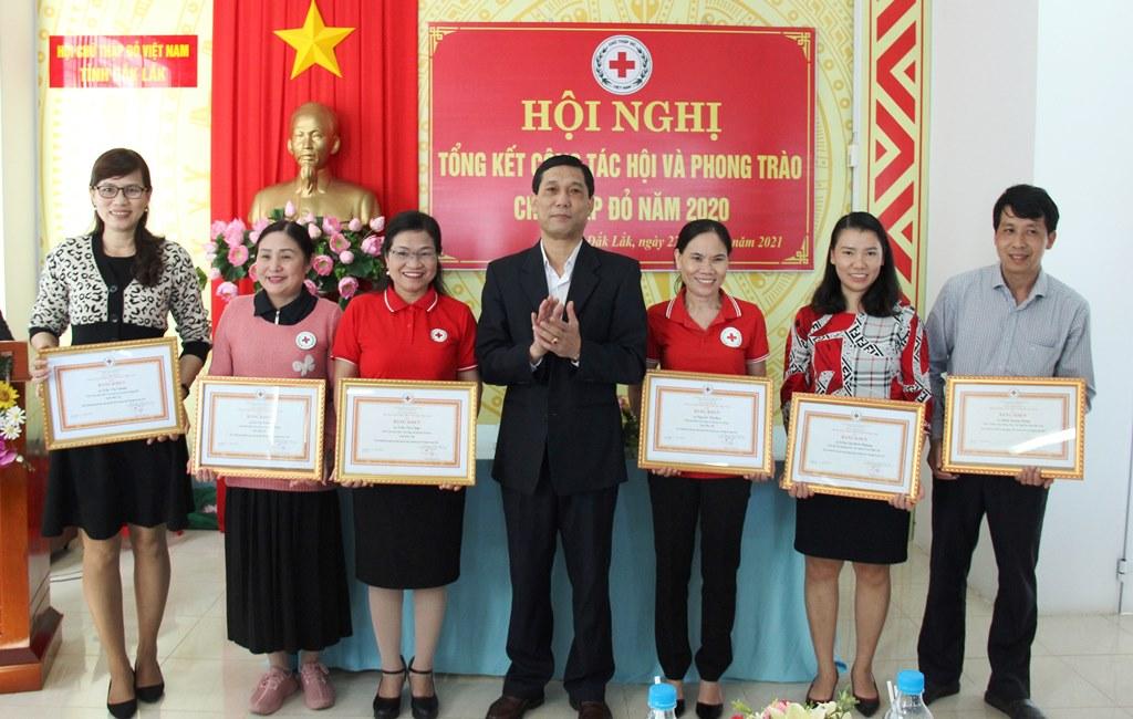 Tổng kết công tác Hội và phong trào Chữ thập đỏ tỉnh năm 2020