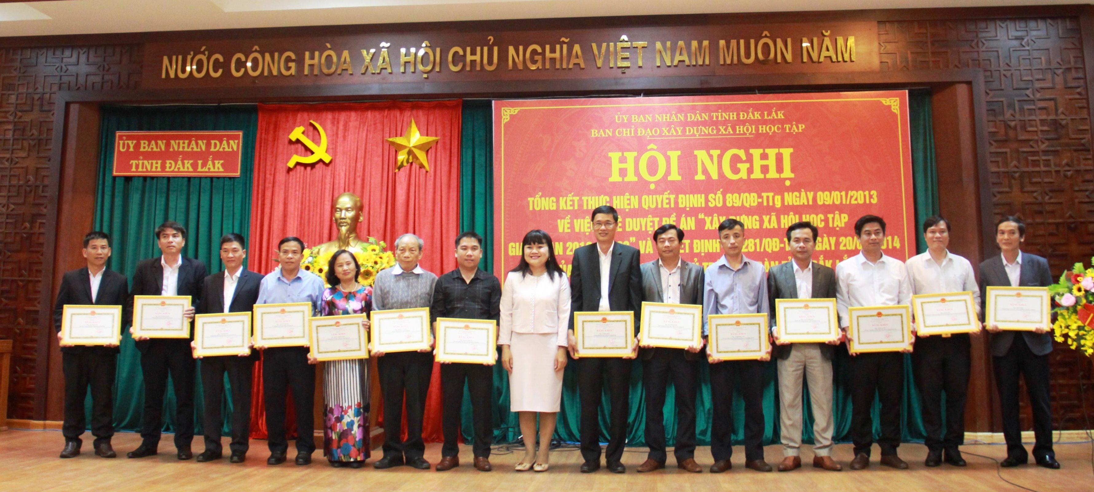 Đắk Lắk tổng kết Đề án Xây dựng xã hội học tập giai đoạn 2012-2020