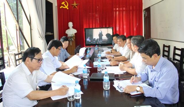 """Sở Xây dựng họp thống nhất nội dung thực hiện chuyên mục """"Kiến trúc Buôn Ma Thuột- Môi trường và sinh thái""""."""
