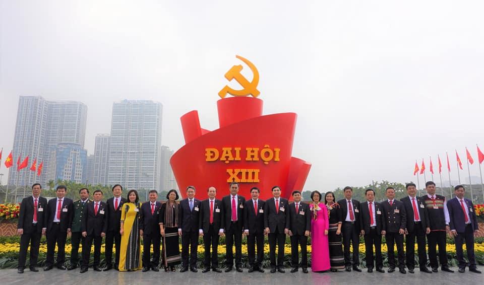Đoàn Đại biểu Đảng bộ tỉnh Đắk Lắk có 04 đồng chí trúng cử Ủy viên Ban Chấp hành Trung ương Đảng khóa XIII