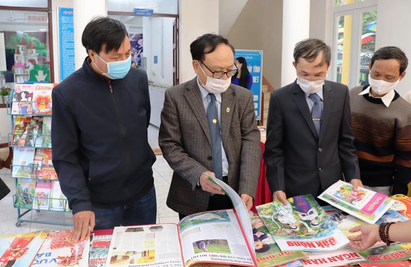 Khai mạc Hội báo Xuân Tân Sửu năm 2021