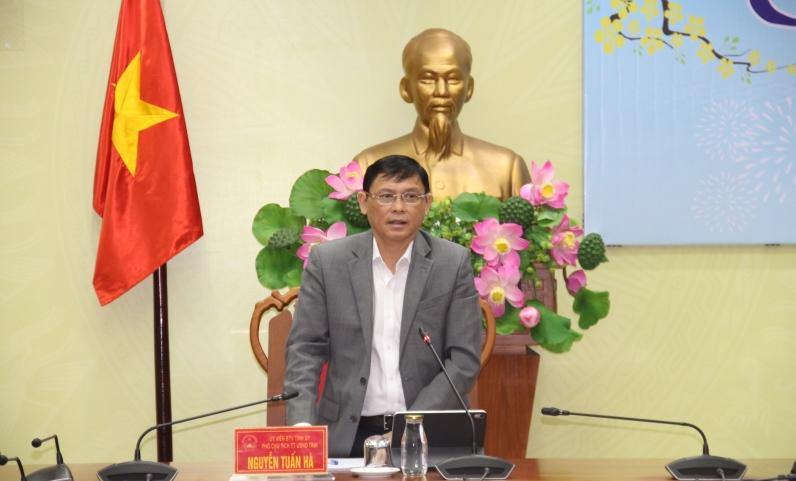 UBND tỉnh họp rà soát điểm tự chấm Chỉ số cải cách hành chính năm 2020