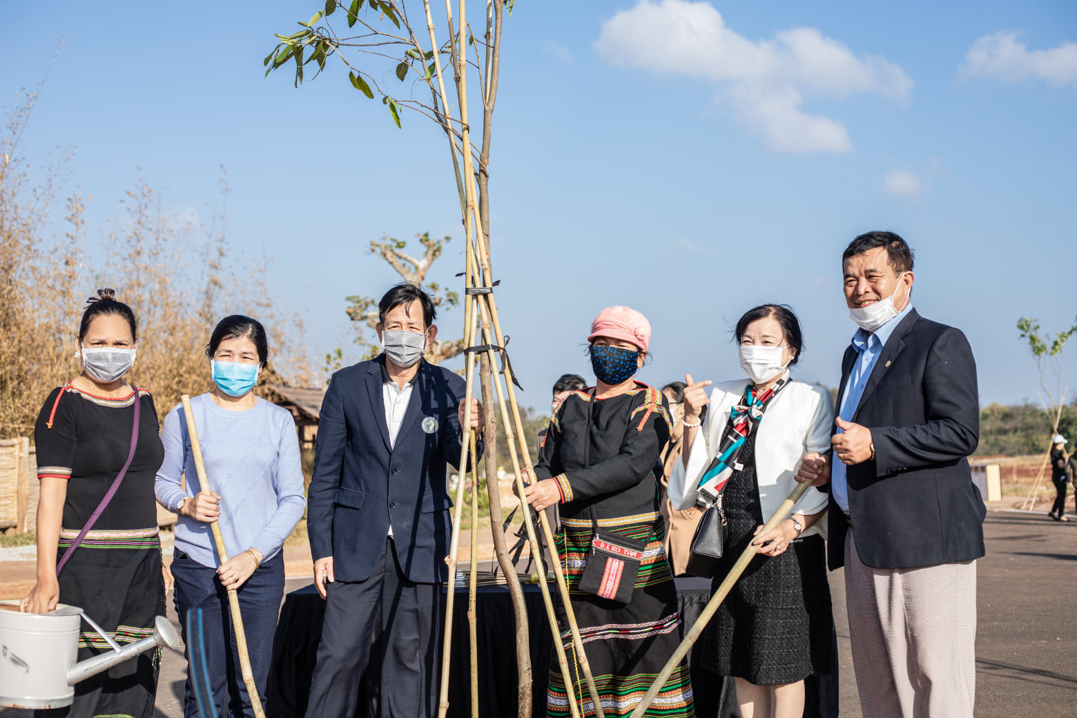 Tết trồng cây lần thứ 4 và trao giải Hội thi ủ Rượu Cần