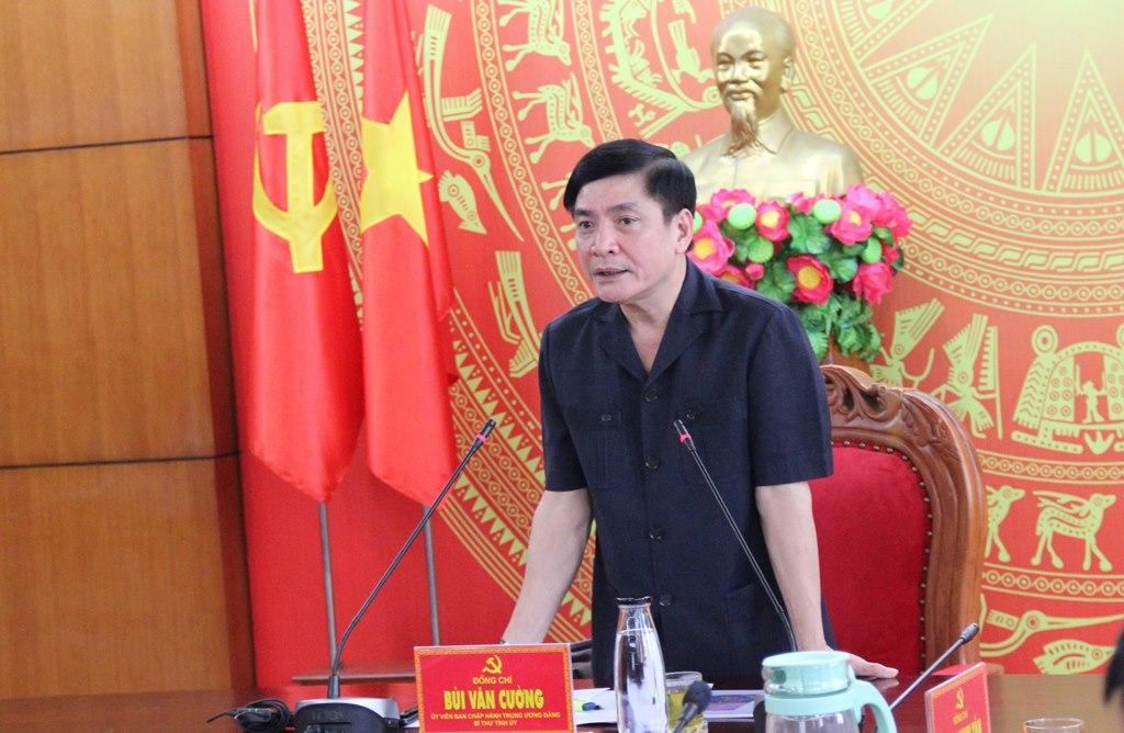 Thường trực Tỉnh ủy làm việc với Công ty Cổ phần Vườn thời đại Việt Nam