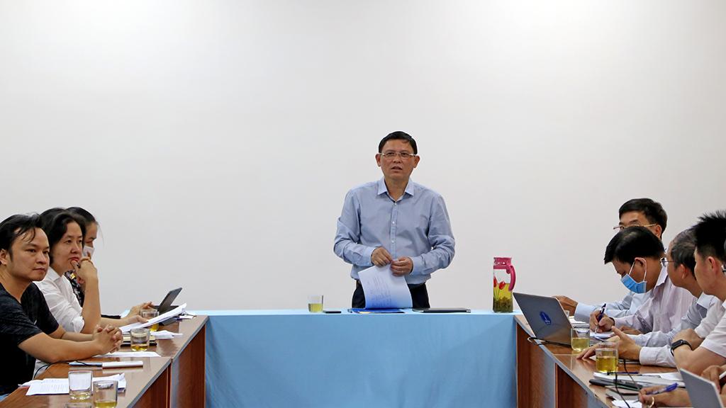 UBND tỉnh họp về tiến độ xây dựng Trung tâm giám sát điều hành thông minh