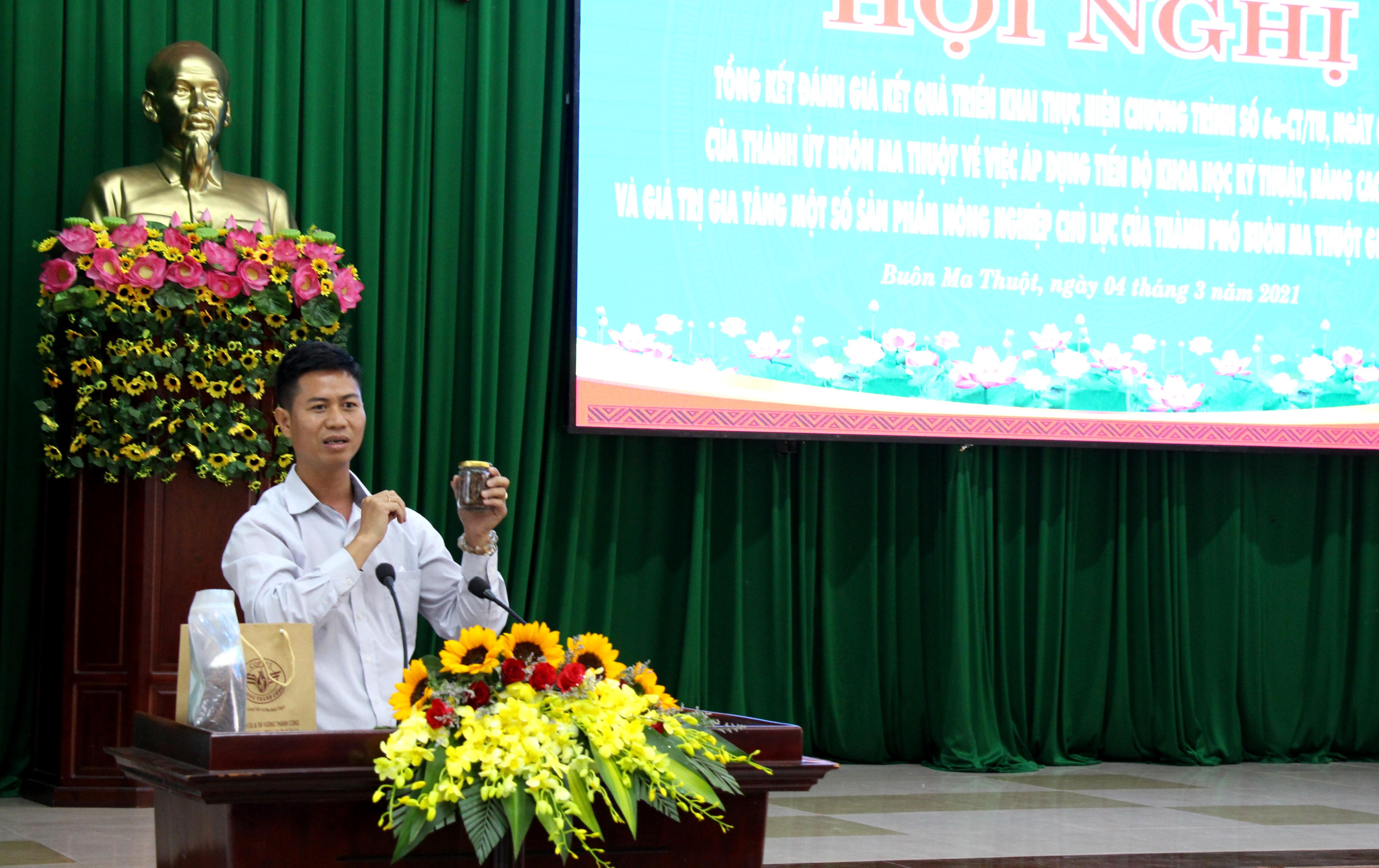 Thành phố Buôn Ma Thuột đẩy mạnh ứng dụng khoa học vào sản xuất nông nghiệp