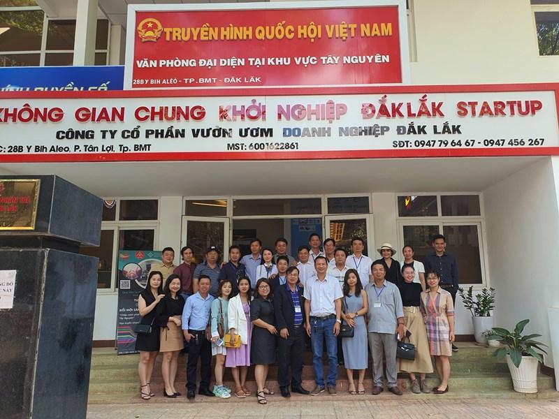 Kết nối giao thương giữa Hội Doanh Nhân trẻ Đắk Lắk và Hội Doanh Nhân trẻ Phú Yên