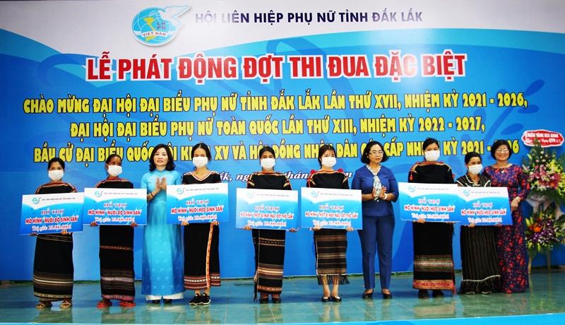 Đắk Lắk phát động đợt thi đua đặc biệt trong phong trào phụ nữ