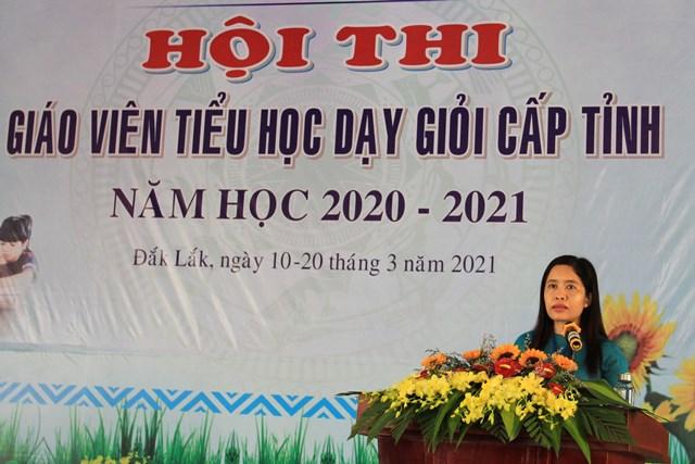 180 giáo viên tiểu học tham dự Hội thi giáo viên dạy giỏi cấp tỉnh