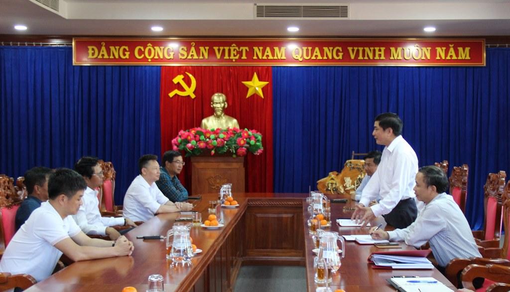 Thường trực Tỉnh ủy làm việc với Đài Truyền hình Việt Nam