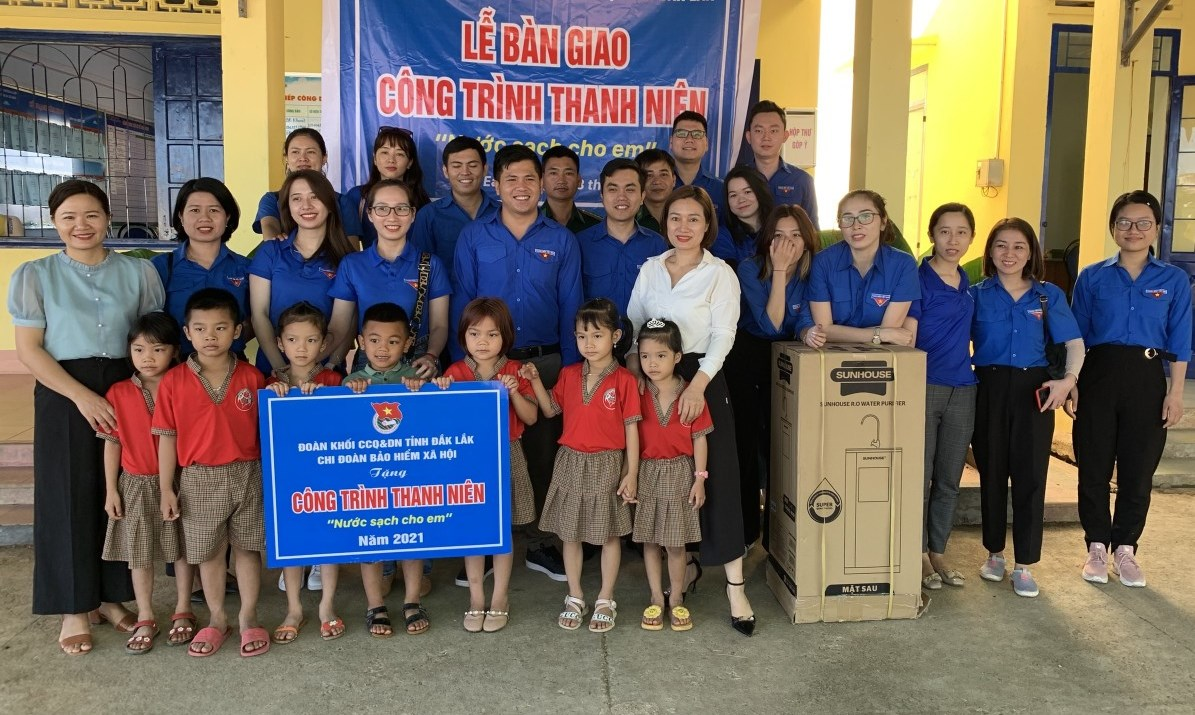 Nhiều hoạt động vì cộng đồng tại biên giới Đắk Lắk