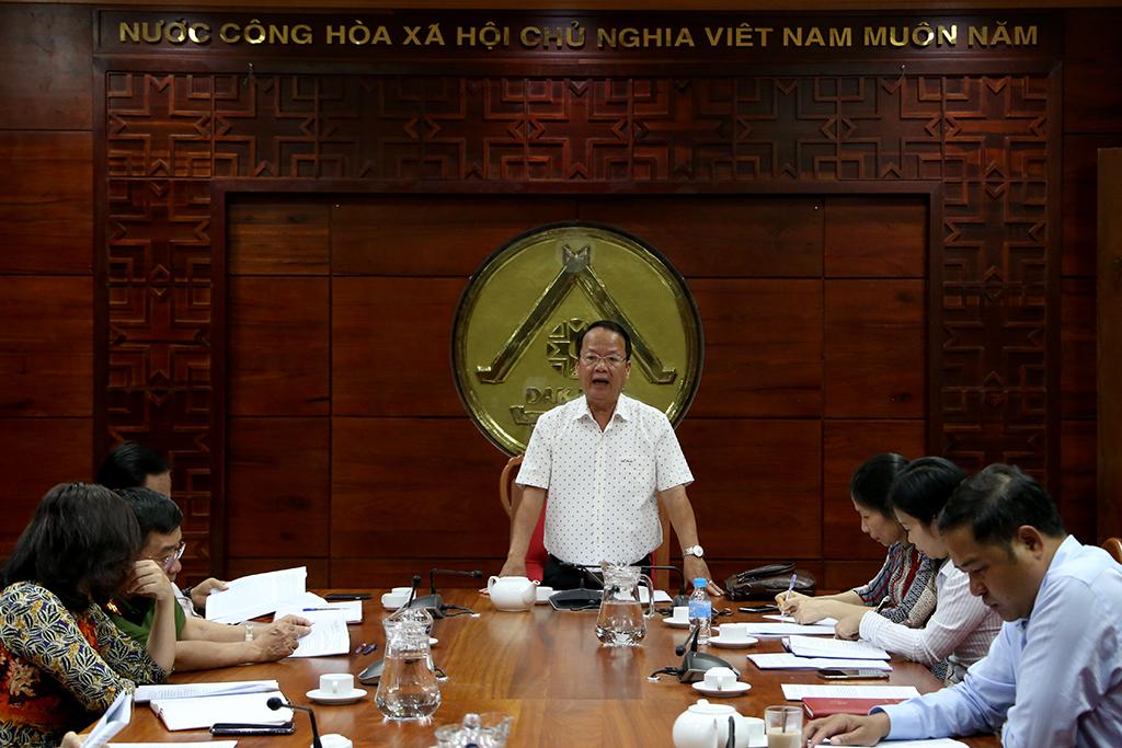 Ban Pháp chế HĐND tỉnh thẩm tra nội dung trình Kỳ họp chuyên đề