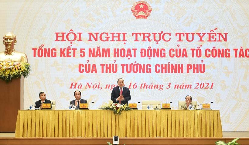 Tổng kết 5 năm hoạt động Tổ công tác của Thủ tướng Chính phủ