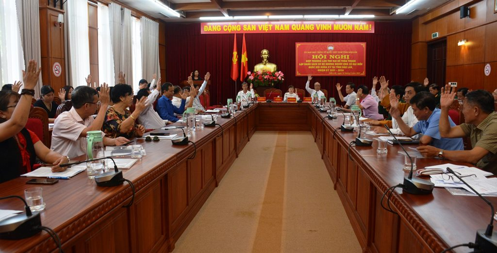 Đắk Lắk thống nhất cao danh sách sơ bộ 12 ứng cử viên bầu đại biểu Quốc hội khóa XV