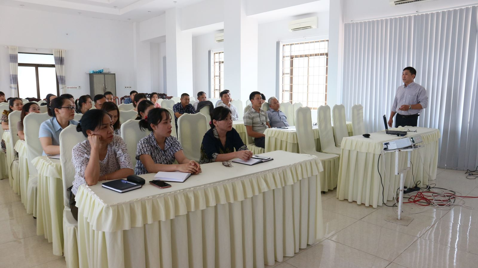 Tập huấn giám sát đáp ứng dịch bệnh truyền nhiễm