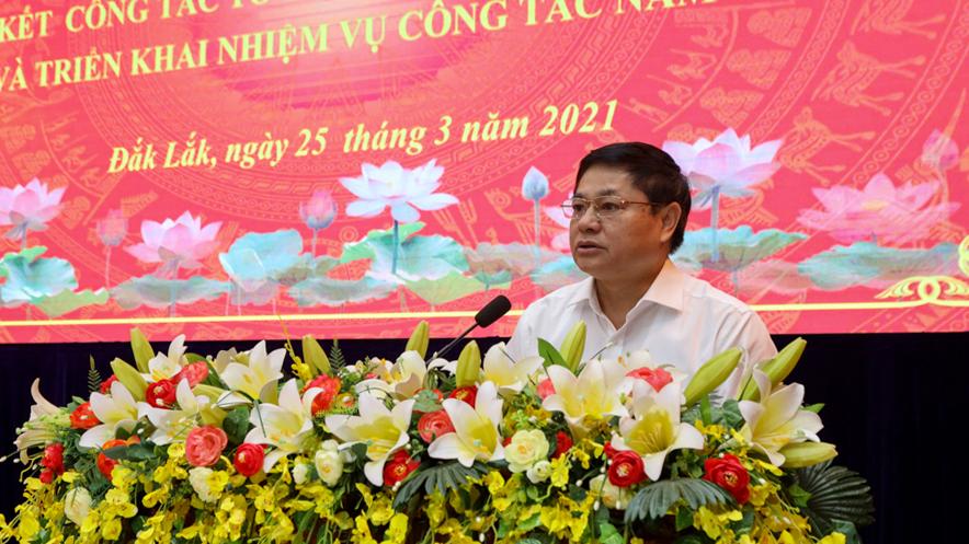 Tỉnh ủy tổng kết công tác tổ chức xây dựng Đảng năm 2020