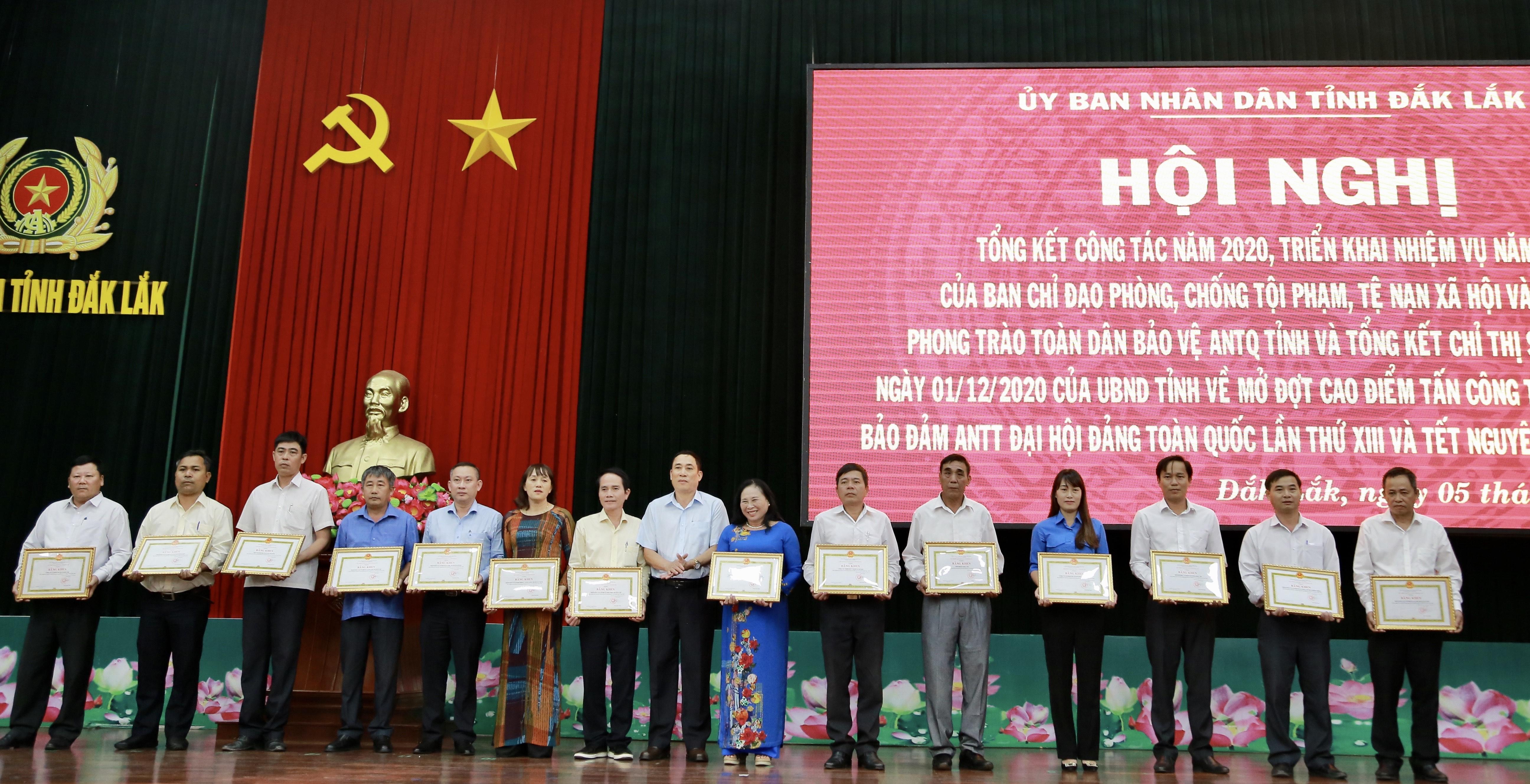 Đắk Lắk tổng kết công tác phòng chống tội phạm và phong trào toàn dân bảo vệ an ninh Tổ quốc