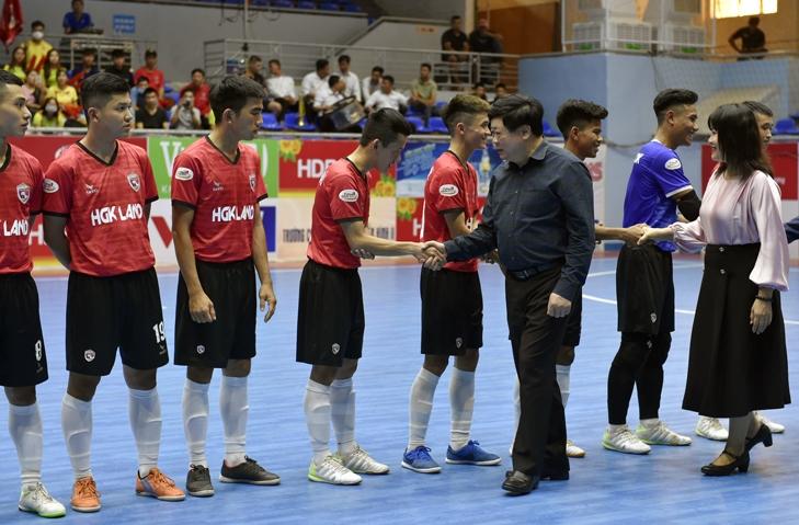 Khai mạc Vòng chung kết Giải Futsal HDBank Vô địch quốc gia 2021