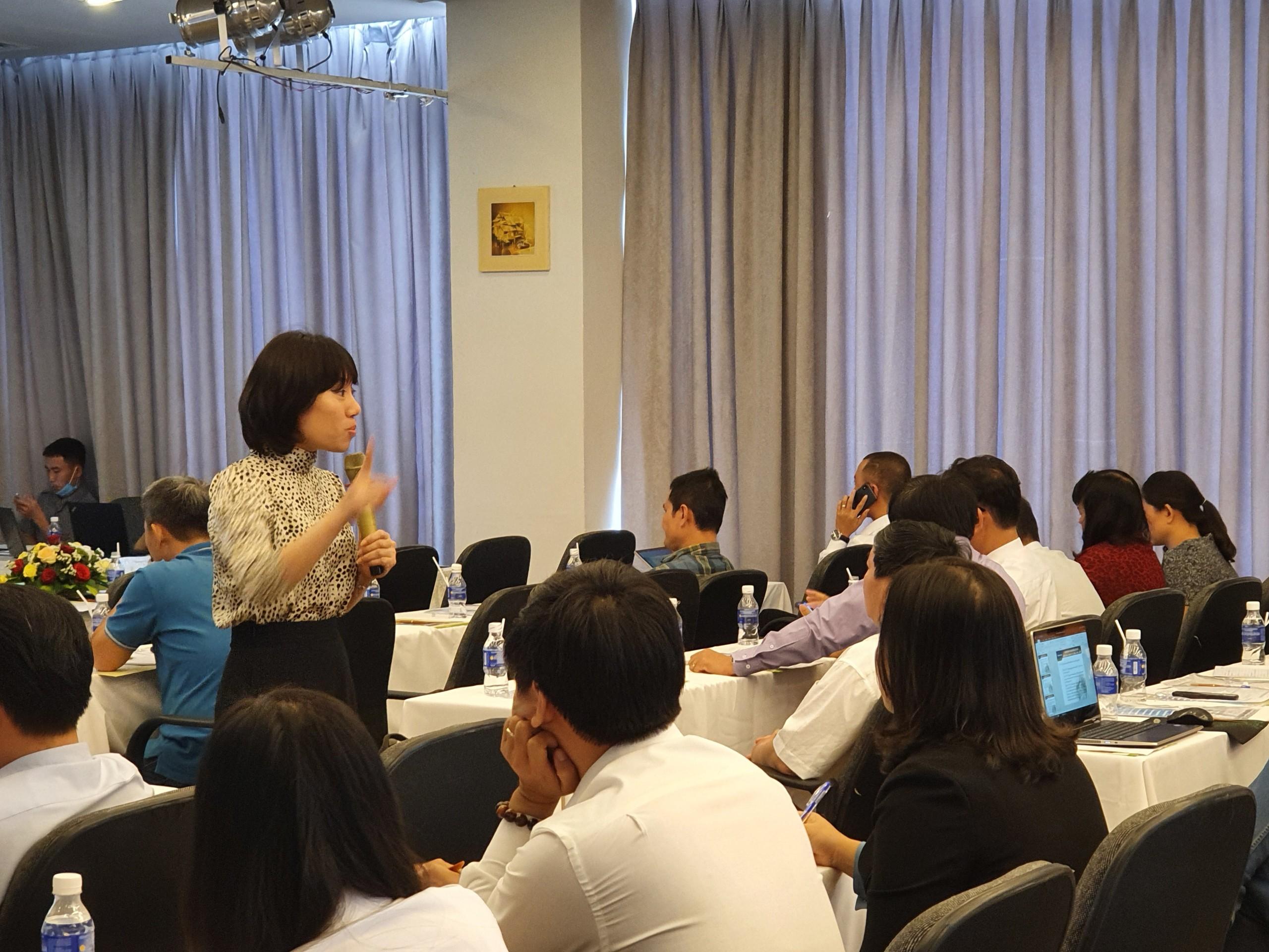 Tập huấn nghiệp vụ cho cán bộ công đoàn ngành Thông tin và Truyền thông Việt Nam năm 2021