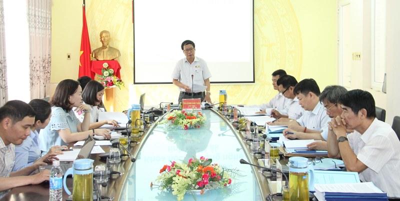 Họp nghiệm thu Đề tài Đánh giá tiềm lực khoa học và công nghệ tỉnh Đắk Lắk