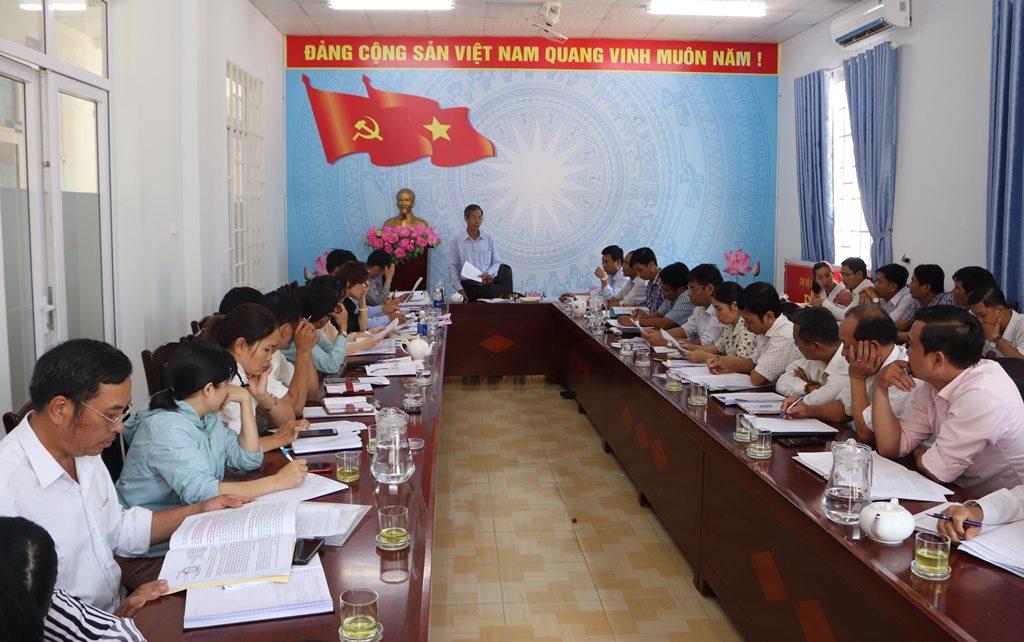 Kiểm tra công tác bầu cử tại huyện Krông Ana