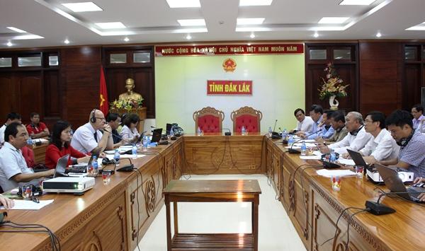 Đoàn chuyên gia ADB làm việc tại tỉnh về Dự án Hỗ trợ phát triển khu vực biên giới