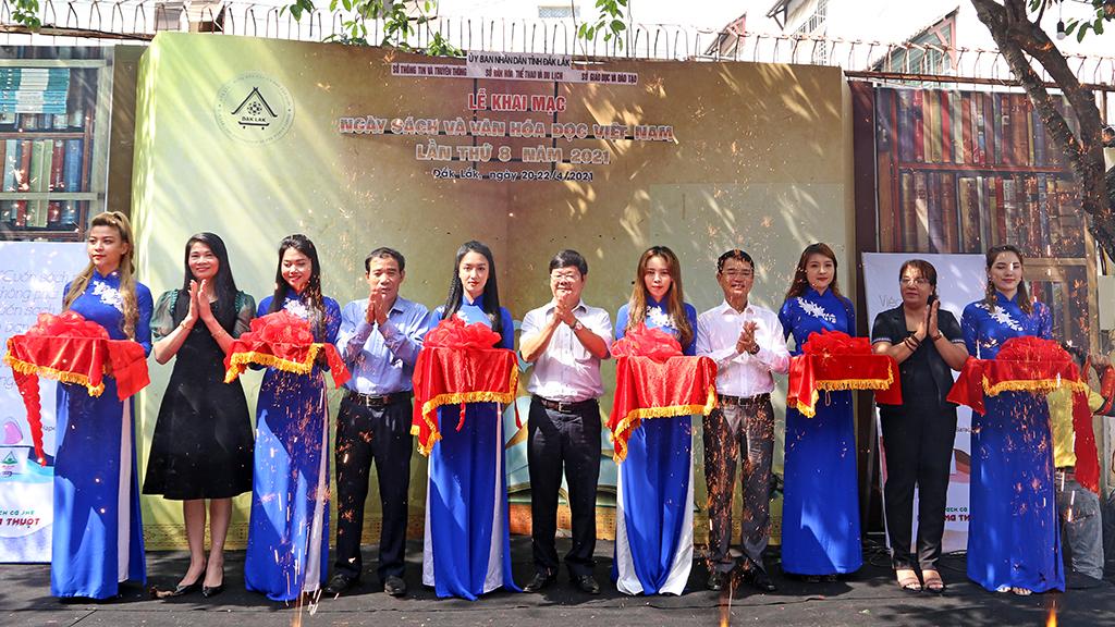 Khai mạc Ngày sách và Văn hóa đọc Việt Nam lần thứ 8, năm 2021