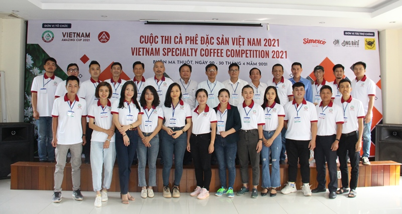 Opening of Preliminary Round of Vietnam Specialty Coffee Competition 2021