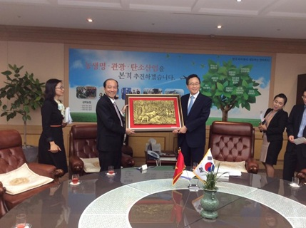 Đắk  Lắk tổ chức Hội thảo Xúc tiến đầu tư với các doanh nghiệp tại Hàn Quốc