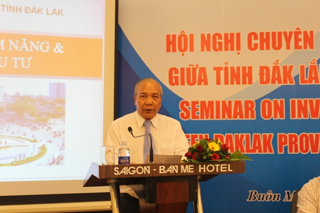 Gặp gỡ giữa tỉnh Đắk Lắk và Ngoại giao đoàn - Tăng cơ hội thu hút đầu tư vào tỉnh.