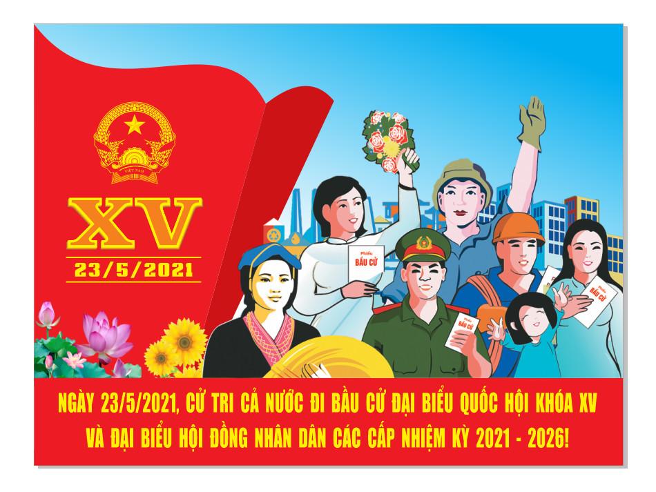 Đẩy mạnh công tác tuyên truyền, cổ động trực quan Cuộc bầu cử đại biểu Quốc hội khóa XV và đại biểu HĐND các cấp nhiệm kỳ 2021-2026