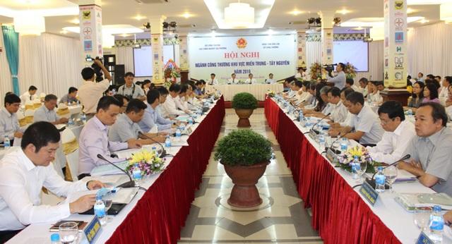 Hội nghị ngành Công Thương các tỉnh, thành phố khu vực Miền Trung – Tây Nguyên năm 2016.