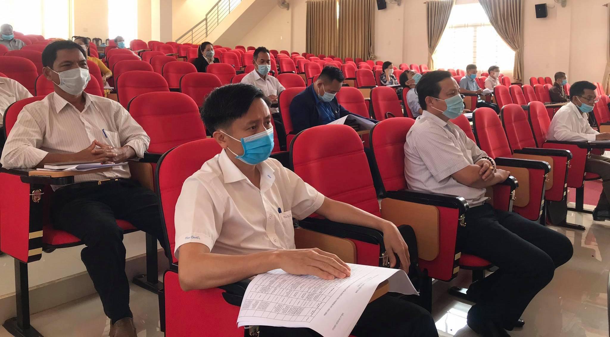 Hội nghị công bố kết quả bầu cử huyện Krông Búk