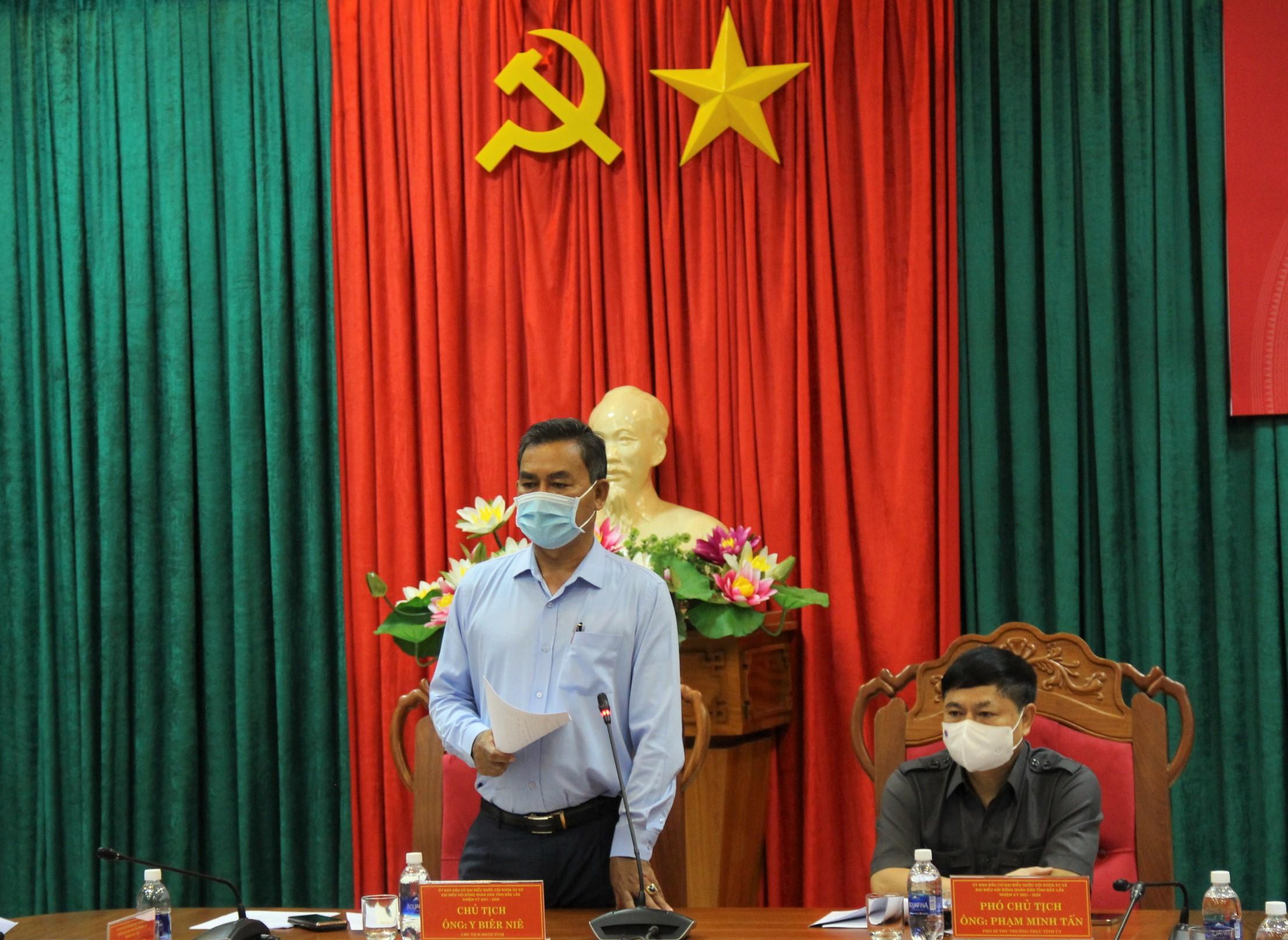 Uỷ ban Bầu cử tỉnh Đắk Lắk họp phiên thứ 6