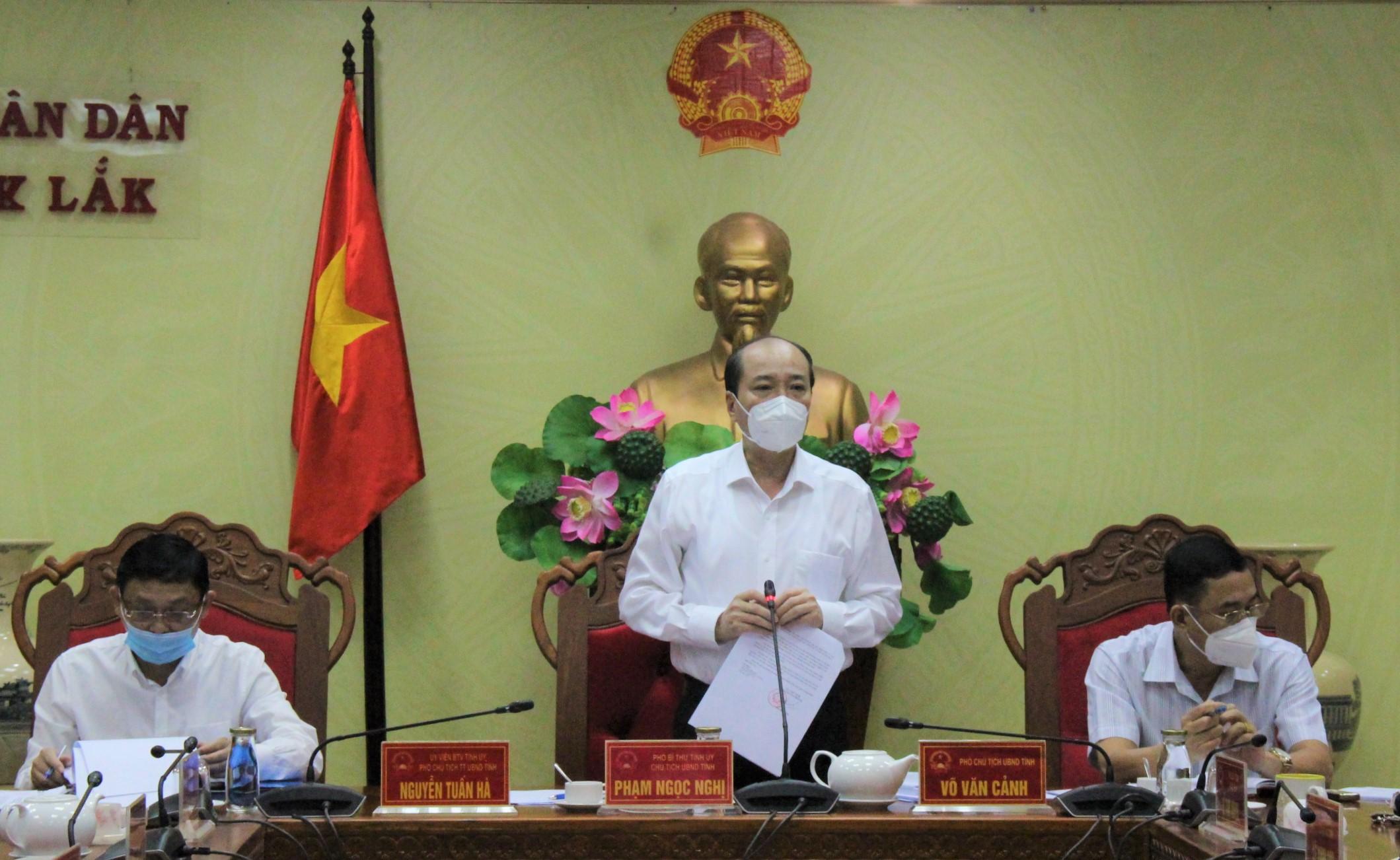 UBND tỉnh họp thông qua các nội dung trình Kỳ họp HĐND tỉnh