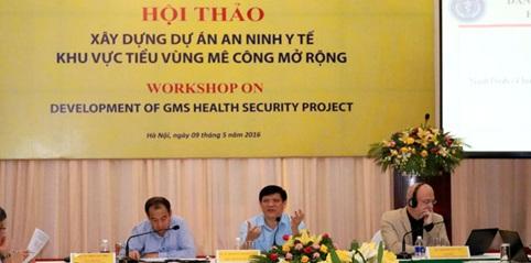 Tiếp nhận thực hiện Dự án An ninh y tế khu vực tiểu vùng Mê Công mở rộng
