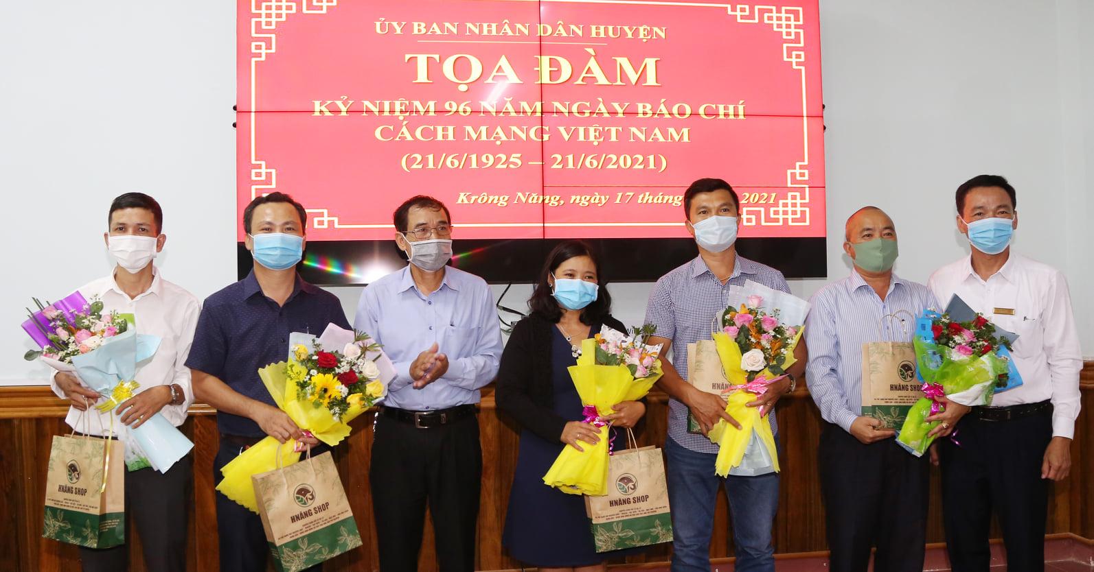 Huyện Krông Năng gặp mặt các cơ quan thông tấn, báo chí