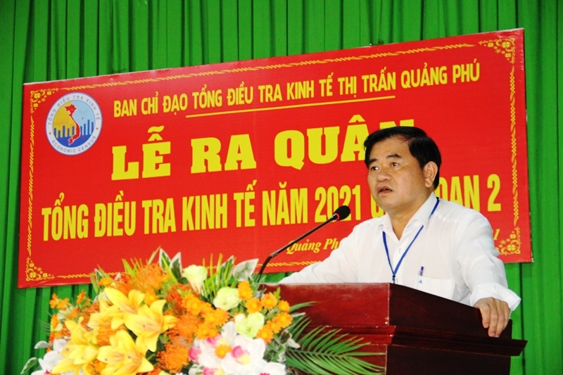 Cư M'gar launching phase 2 of 2021 economic census