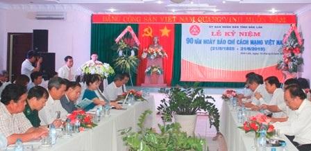 Tổ chức Kỷ niệm 91 năm Ngày Báo chí Cách mạng Việt Nam (21/6/1925 - 21/6/2016)