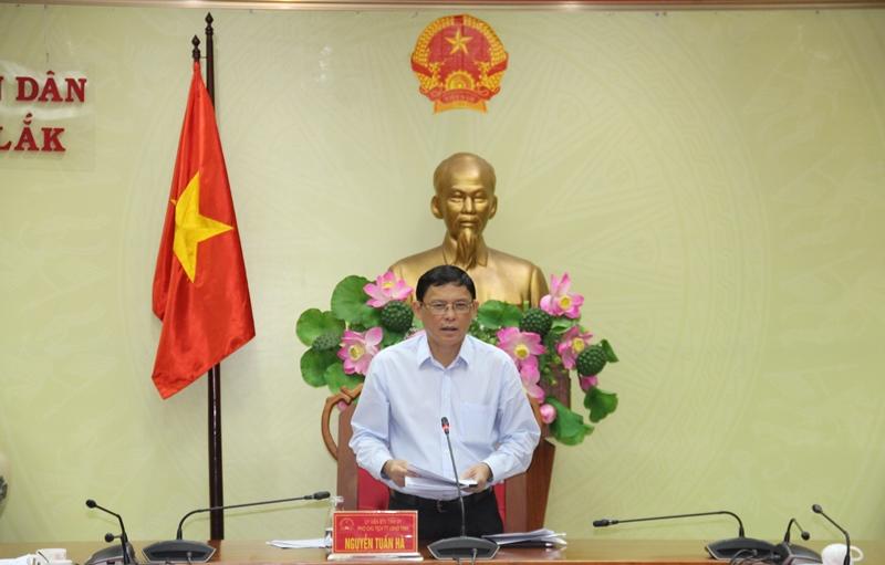Ban Chỉ đạo đôn đốc và chống thất thu ngân sách nhà nước tỉnh triển khai nhiệm vụ 6 tháng cuối năm 2021