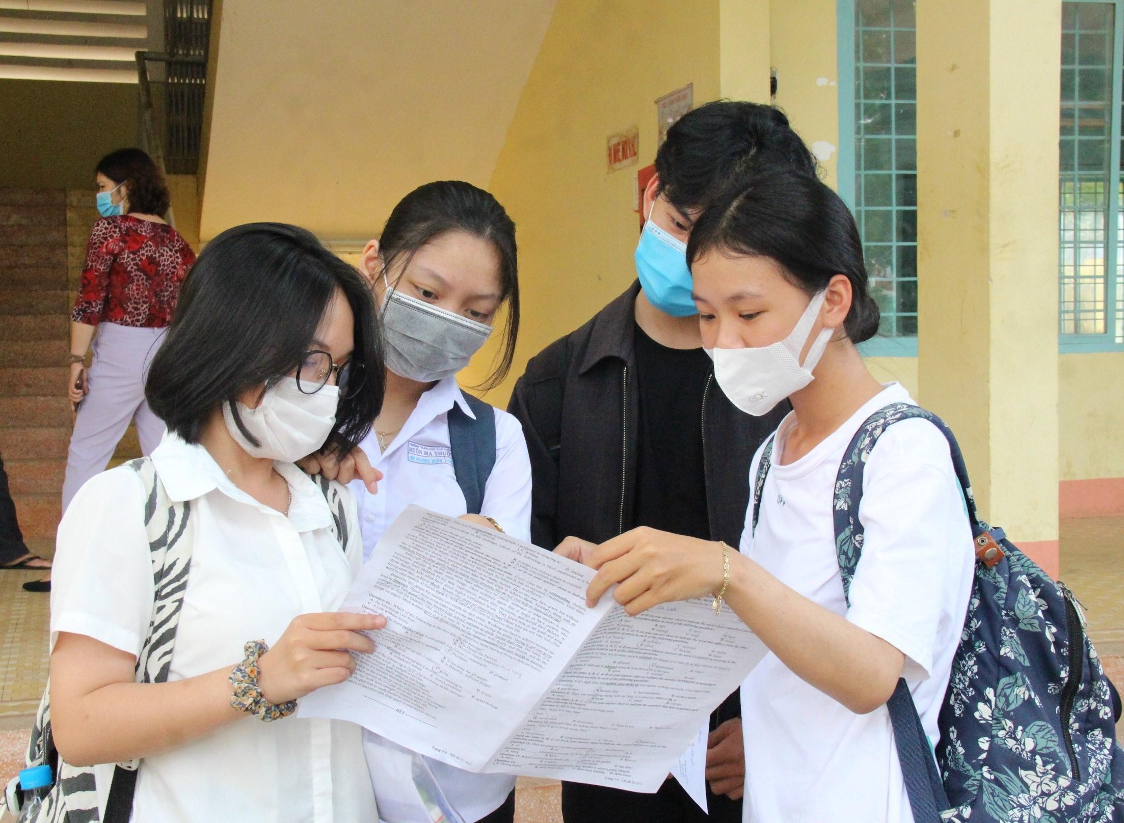Đắk Lắk hoàn thành Kỳ thi tốt nghiệp THPT năm 2021