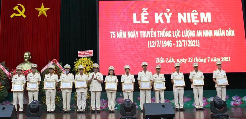 Công an tỉnh Đắk Lắk kỷ niệm 75 năm Ngày truyền thống lực lượng An ninh nhân dân