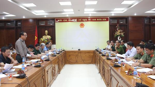 UBND tỉnh làm việc với Đoàn công tác Ủy ban Quốc phòng và An ninh của Quốc hội